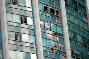 Office Building Hurricane Damage